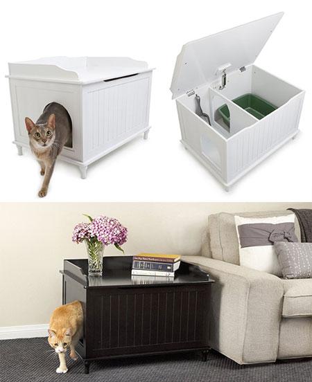 Как выбрать подходящий туалет для кошки