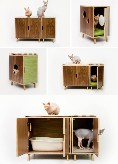 Туалет-домик для кошек своими руками фото 86